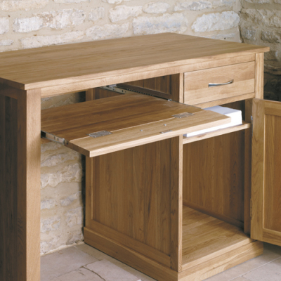 Warick Solid Oak Desk 3