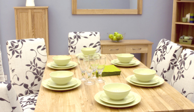 Warwick Six Seater Dining Table 3