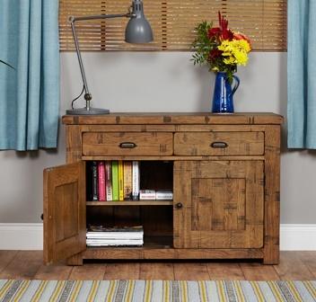 Hatfield Sawn Oak Sideboard 2