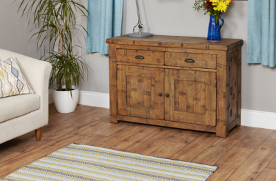 Hatfield Sawn Oak Sideboard 3
