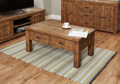 Hatfield Six Drawer Coffee Table 2