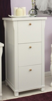 New England 3 Drawer Filing Cabinet