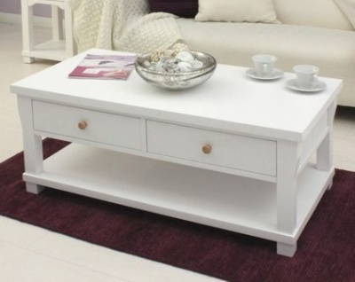 New England Four Drawer Coffee Table 1