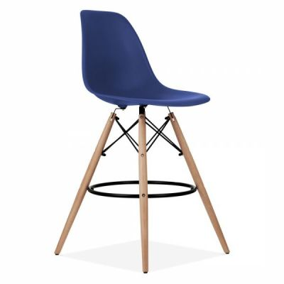 Dsw Stool Royal Blue Seat