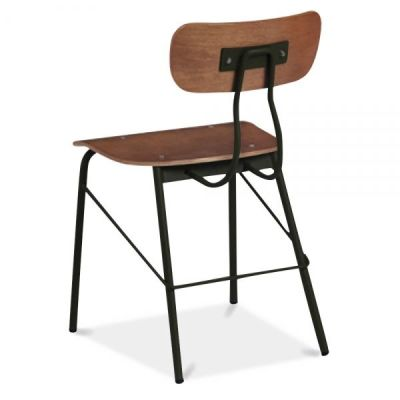 Tex Toledo Designer Cafe Chair Rear Angle