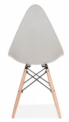 Scalena Designer Chair Light Grey Rear Shot