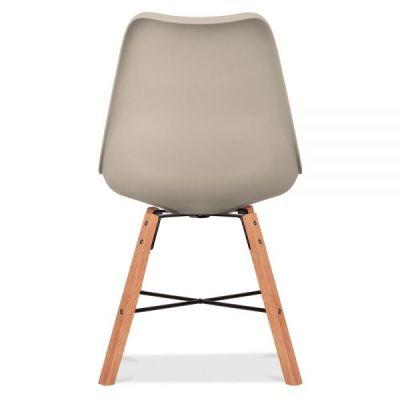Cross Town Chair Wit A Warm Beige Seat Rear Shot