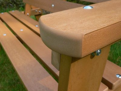 Westpoint Windsor Bench Detail Shot