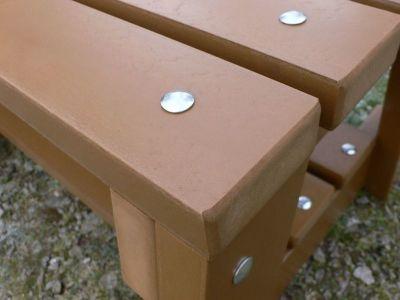 Westpoint Sports Bench Detail Shot