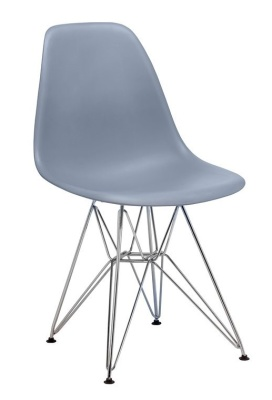 Eames DSR Chair In Grey V