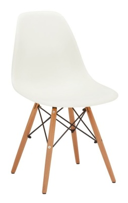 Eames Inspired DSW Chair White