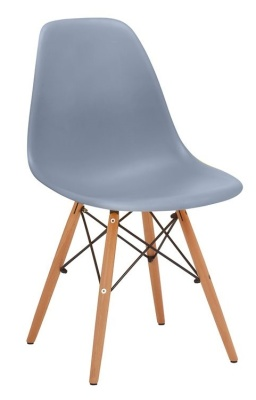 Eames Inspired DSW Chair Grey