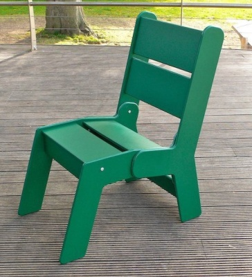 Westpoint Recycled Chair In Green