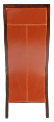 Rochester Leather Dining Chair Rear View