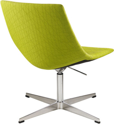 New Yorker Designer Lounge Chair Rear Angle