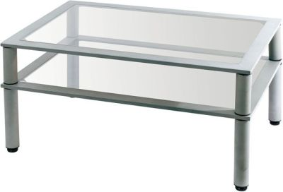 Monfreal Two Tier Glass Coffee Table