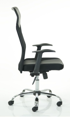 Volta High Back Mesnh Chair Side View