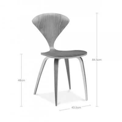 Walnut Cherner Chair Dims