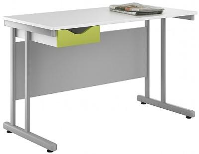 Uclic Kaleidoscope Desk Lime Front