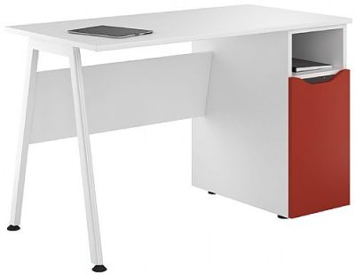 Inspire Desk With A Red Door