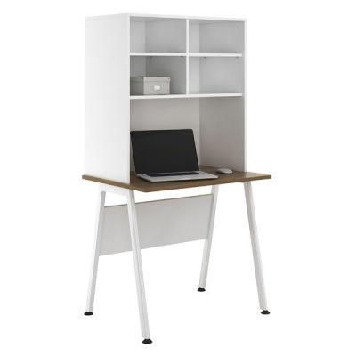 Aspire Sylvan Desk And Open Storage Hutch 3