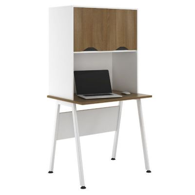 Aspire Sylvan Desk Walnut Doors