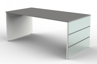 Legano Executive Desk With A Graphite Top