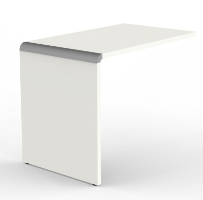 Modem Desk Return In White