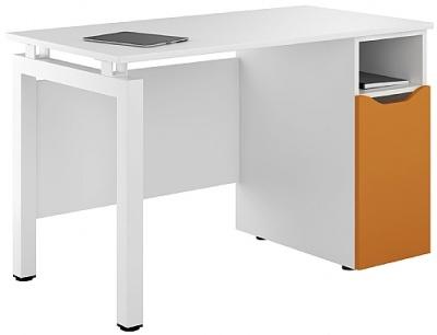 UCLIC Engage Desk With Orange Dooor