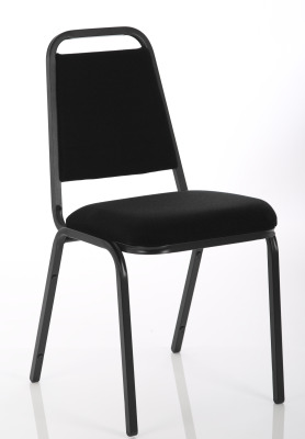 Master Banqueting Chair Black Fabric