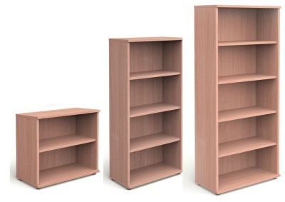 Trapido Wooden Bookcases In Beech