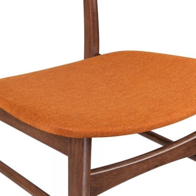Detroit V2 Orange Fabric Detail