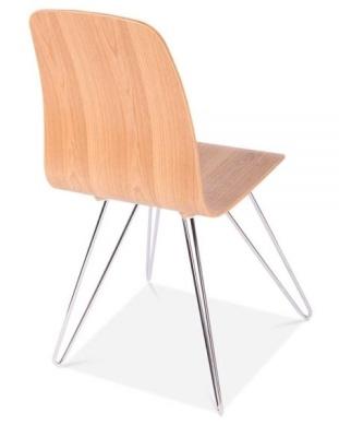 Bennie Designer Chair Raer Angle Shot