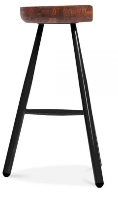 Tyso High Stool Side View