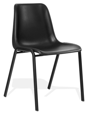 Stra Next Day Poly Chair In Black