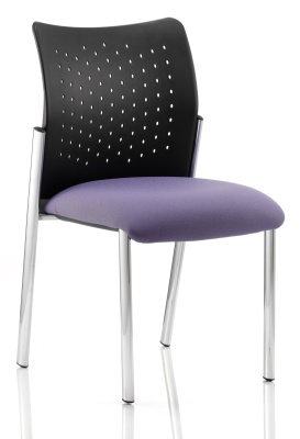Vector Chair With Upholstered Seat No Arms