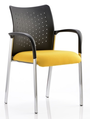 Vector Chair With Arms And Cjustom Upholstered Seat