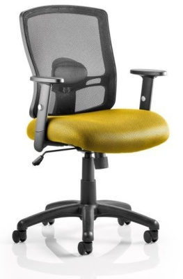 Corbett Chair Yellow Seat