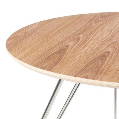 Olso Table Natural Top Detail Shot