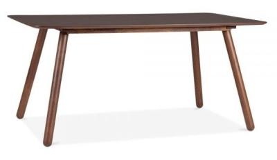 Sydney Rectangular Dining Table In Walnut Angle Shot