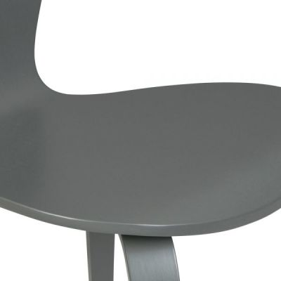 Cherner Chair Dark Grey Detaiol Shot