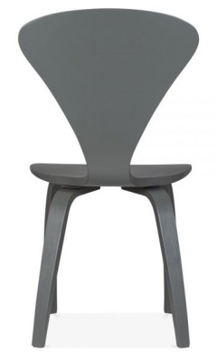 Cherner Chair Dark Grey Rear Shot
