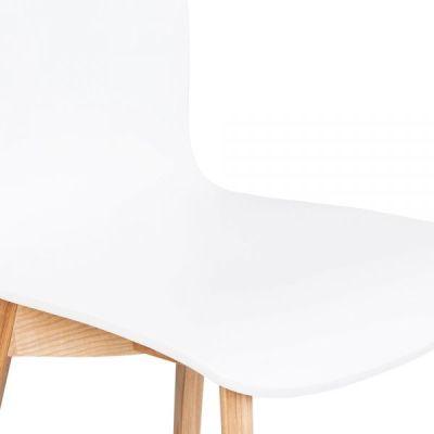 Acora Designer Chair White Seat Detail