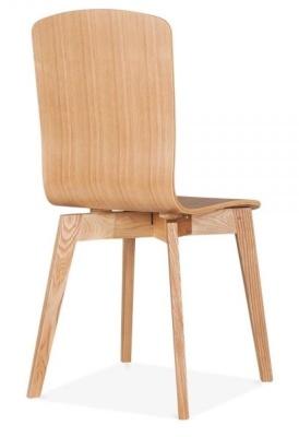 Acora Chair Natural Rear Angle