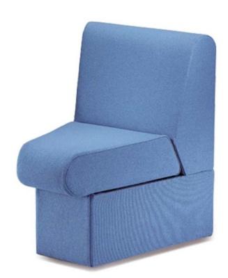 Sequest Chair Concave Unit