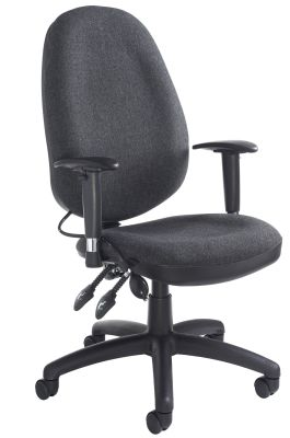 Impact Ergonomic Chair Front Angle