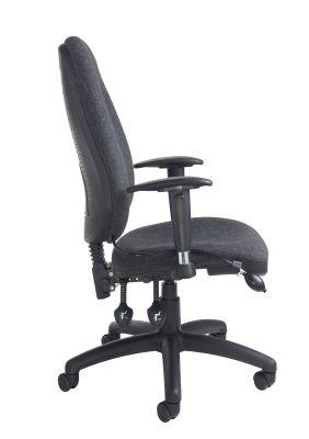 Impact Ergonomic Chair Side Angle