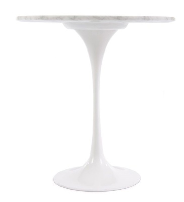 Tulip Ocassional Table With A Marble Top 2