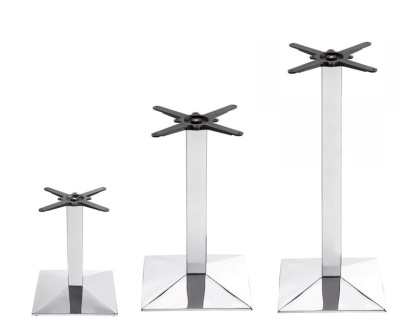 Kingston Chrome Table Bases