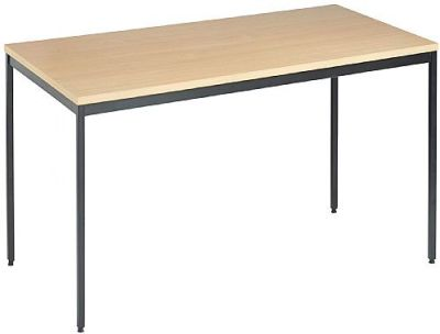 Next Day Contract Tables Beech Top